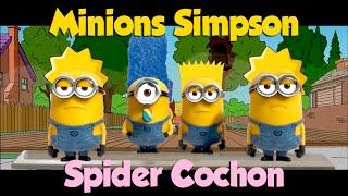Minions Simpson - Spider Cochon - YouTube