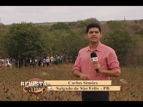 Matéria Algodão ( Salgado de São Félix - PB ) Rit TV ''Programa Revista do Campo''