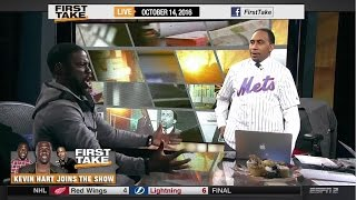Kevin Hart What Now On First Take Trolls Stephen A. Smith FULL