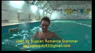 Video sent to a victim by Russian Romance Scammer aleksabeauty83@gmail.com