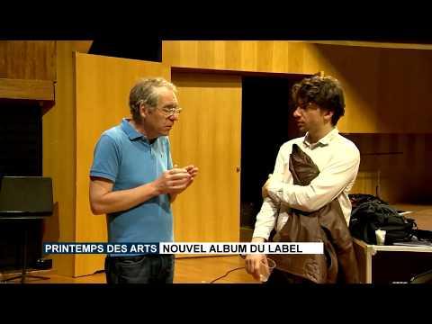Enregistrement de l'album de Josquin Otal