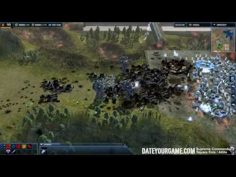 геймплей Supreme Commander 2