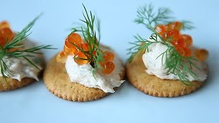 How to Make Smoked Salmon Nibbles
