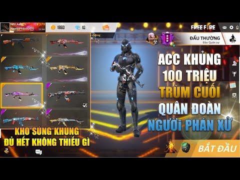 Free Fire | Review Acc Khủng 100 Củ của Trùm Cuối quân đoàn Người Phán Xử | Rikaki Gaming - Thời lượng: 17:27.