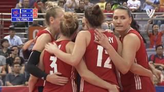 Volleyball Nations League Gold  Medal Match  Women  01 07 2018