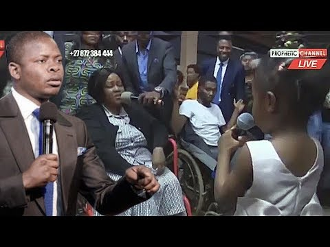 Prophet Bushiri's 3 Year Old Daughter Joins Fathers Miracle Scam