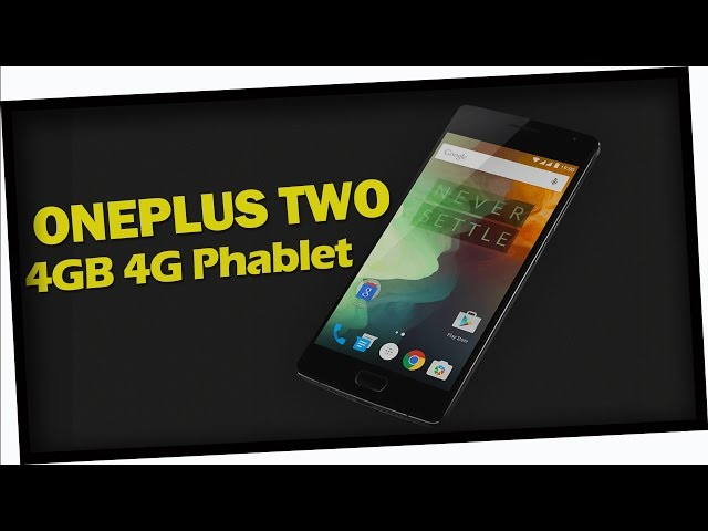 ONEPLUS TWO 4GB 4G Phablet from GearBest.com