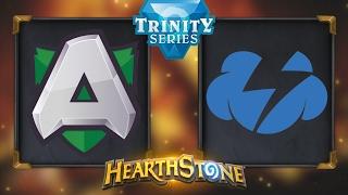 Hearthstone - Alliance vs. Tempo Storm - Hearthstone Trinity Series - Day 5
