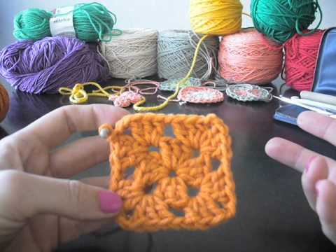cuadritos a crochet - El grupo de tejedoras mendocinas