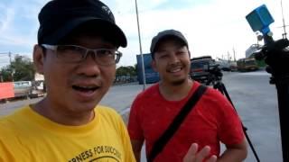 Timelapse Challenge Xiaomi Yi vs Legria Mini X Sunda Kelapa Harbor
