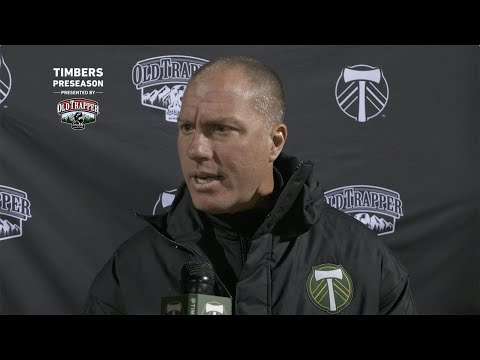 Video: Timbers in Tucson | Giovanni Savarese talks about his team's preseason win over Seattle