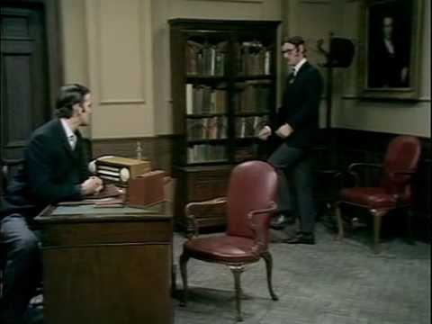 Silly - Monty Python's Ministry of Silly Walks Full Sketch.