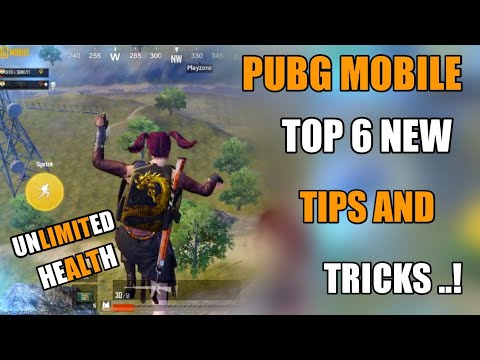 Pubg Mobile New Top 6 Tips And Tricks Hindi !! Unlimited Health Pubg Mobile New Tricks Hindi
