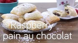 How to Make Raspberry Pain au Chocolat