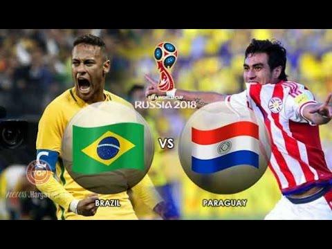 Brazil vs Paraguay 3-0 Goals & Highlights HD 29/03/2017