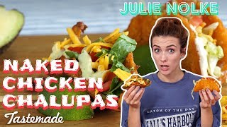 Taco Bell Naked Chicken Chalupa at Home | 5 Second Rule with Julie by Tastemade