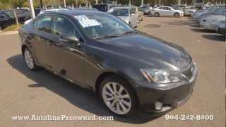 Autoline's 2009 Lexus IS 250 Walk Around Review Test Drive