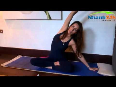 Hướng dẫn tập Yoga vòng eo