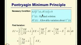 Mod-15 Lec-34 Constrained Optimal Control -- I