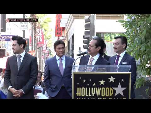 Los Tigres Del Norte Walk of Fame Ceremony