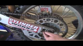 6. YZ125 Part 33: 2 Stroke Chain & Slack Adjustment