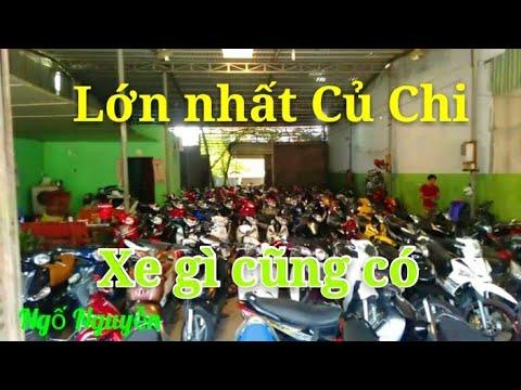 Tiệm xe cũ lớn nhất Củ Chi Exciter - Winner - Sh - Tay ga đầy đủ các loại xe  Ngố Nguyễn - Thời lượng: 11 phút.