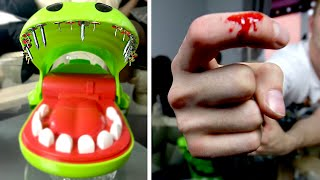 EXTREME CROCODILE DENTIST ft. NAILS (BLOOD ALERT)