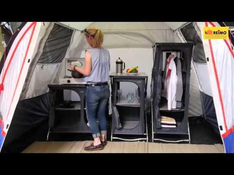 Campingzubehör: Campingschrank - mehr Ordnung in Zelt und Vorzelt