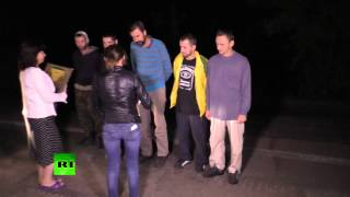 Ukraine Prisoner Exchange: Donetsk Militia&Kiev Forces Swap