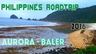Baler Philippines  city photo : Philippines roadtrip Baler Beach, Aurora Province | 2016 VLOG