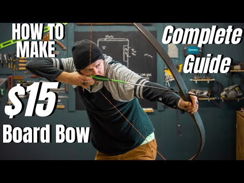 DIY High-Performance Board Longbow Build