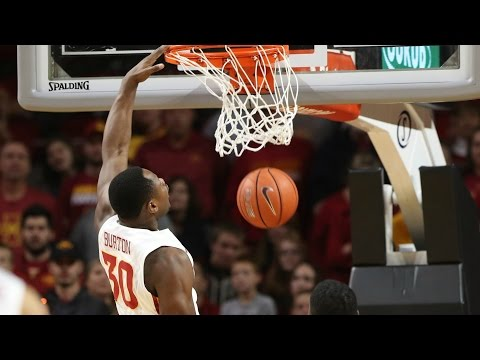 Deonte Burton Sends Game To OT With Massive Dunk | CampusInsiders (видео)