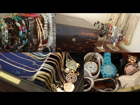 collection - My jewellery collection and how I store it! Thanks to everyone who requested this video, I hope you like it! Fleur xo WHERE ELSE TO FIND ME -----------------...