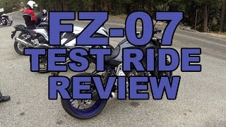 10. 2015 Yamaha FZ-07 Test Ride and Review