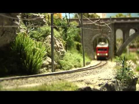 Switzerland - An amazing model railway layout about Switzerland and the famous Glacier Express. Watch a model train, cruising between Brig, Visp and Zermatt as model railr...