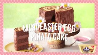 Mini Egg Piñata Cake