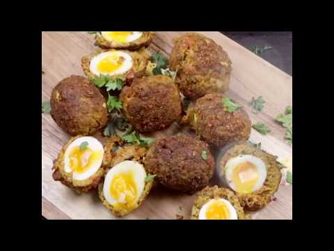 Lucy Bee | Chorizo And Turmeric Scotch Egg Recipe | Morrisons