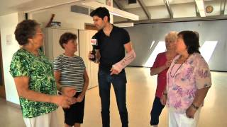 Ben Aaron Does The Wobble Dance...And It Is Worth Watching