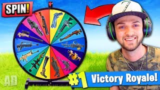 Video WHEEL CHOOSES my GUN in Fortnite: Battle Royale! (+ GIVEAWAY) MP3, 3GP, MP4, WEBM, AVI, FLV Agustus 2018
