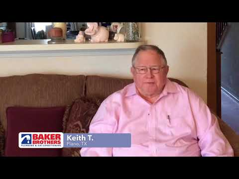 Baker Brothers Plumbing & Air Review – Keith T. – Plano, TX