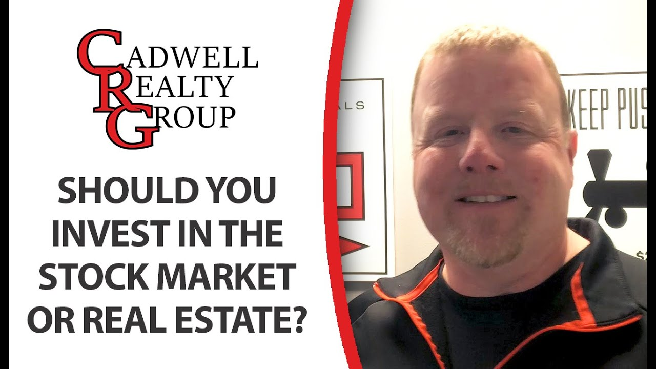 Should You Invest in the Stock Market or in Real Estate?