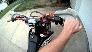 4. 2010 KTM 450 XCW CE