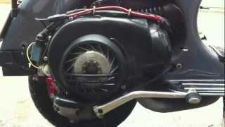 8. Test Engine 2005 Vespa 150
