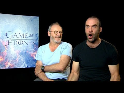 Ozzy Man Interviews Games of Thrones Stars Part