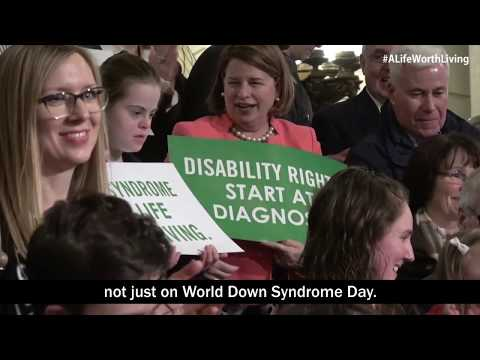Veure vídeo Best three-minutes on why we must protect people with Down syndrome
