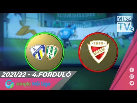 4. forduló Haladás-Viktória - DVTK 2-2 (1-2)