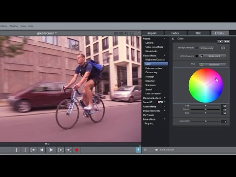 MAGIX Movie Edit Pro 2016 – Video effects tutorial (INT)