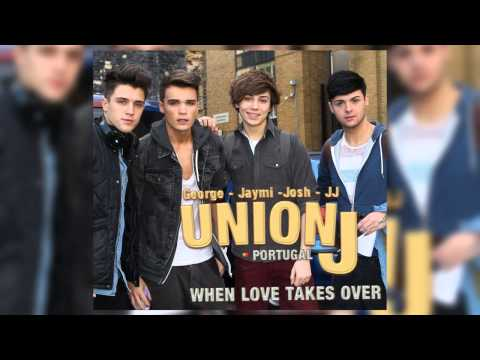 Tekst piosenki Union J - When Love Takes Over You po polsku