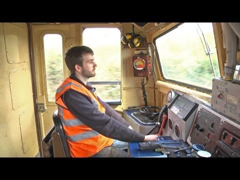 Cab Ride - Inch Abbey to Downpatrick - A39 Diesel Locomotive