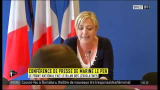 Video Conférence de presse de Marine Le Pen : Bilan des législatives (Nanterre). MP3, 3GP, MP4, WEBM, AVI, FLV Mei 2017